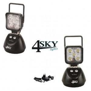 Led Werklamp SK-W3 12/24V met powerbank, magneetvoet, en SOS